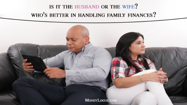 Is it the Husband or the Wife? Who's Better in Handling Family Finances?