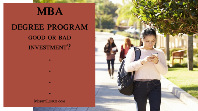 MBA Degree Program: Good Investment or Bad?