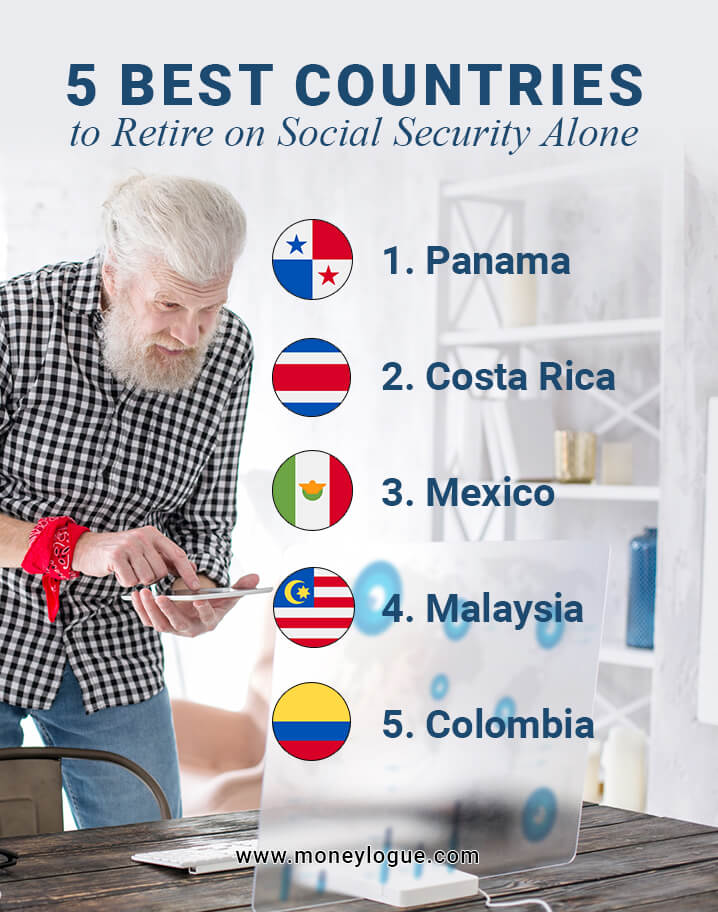 5 Best Countries to Retire on social security check alone