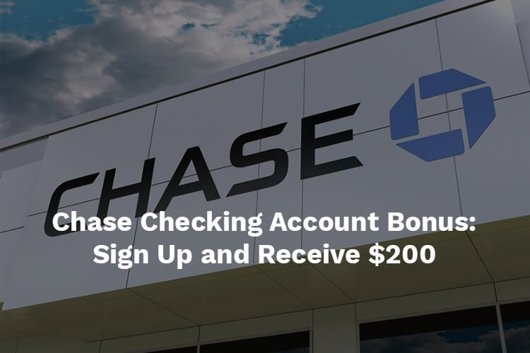 chase bank checking account bonus