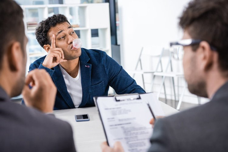 most common job interview mistakes