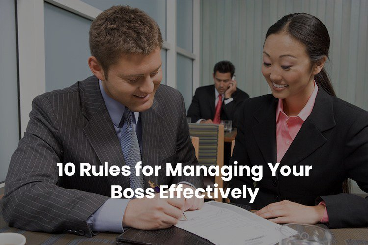 Manage your boss effectively