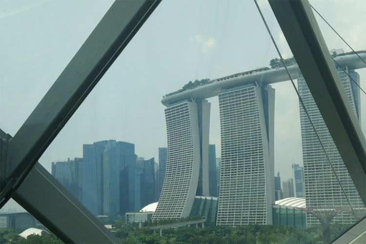 budget travel Marina Bay Sands