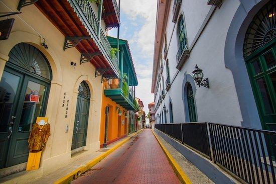 Panama city historic old town