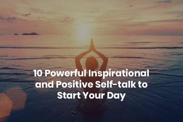 powerful inspirational self-talk