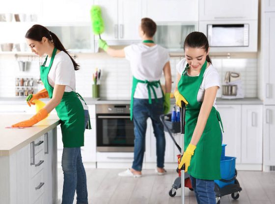cleaning to not lose security deposit