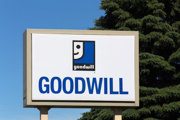 thrifting at Goodwill