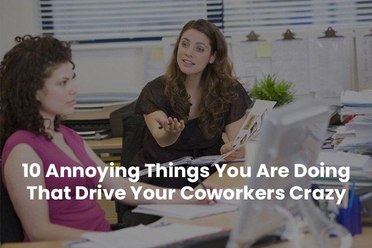 coworkers crazy