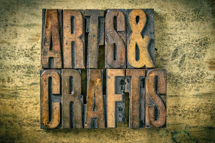 home decor and craft stores
