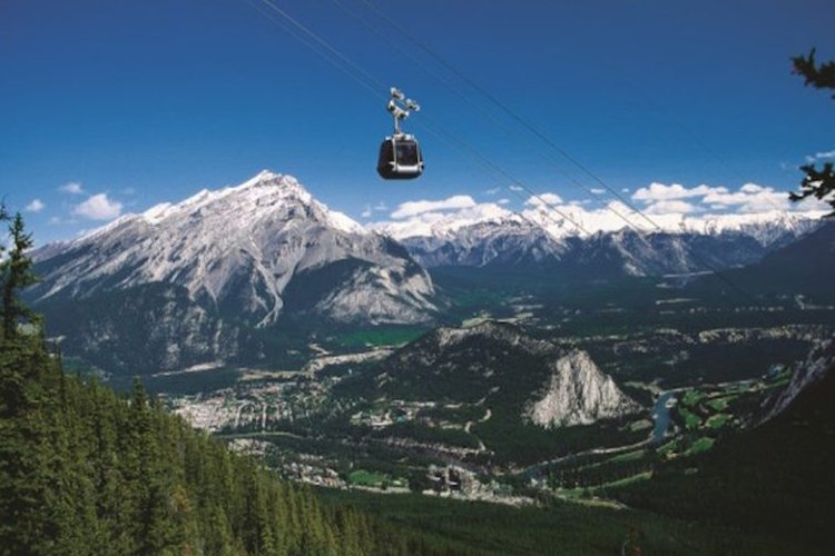 banff national park gondola