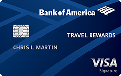 BankAmerican Travel Rewards Credit card