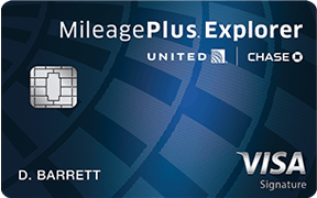 united mileage plus explorer