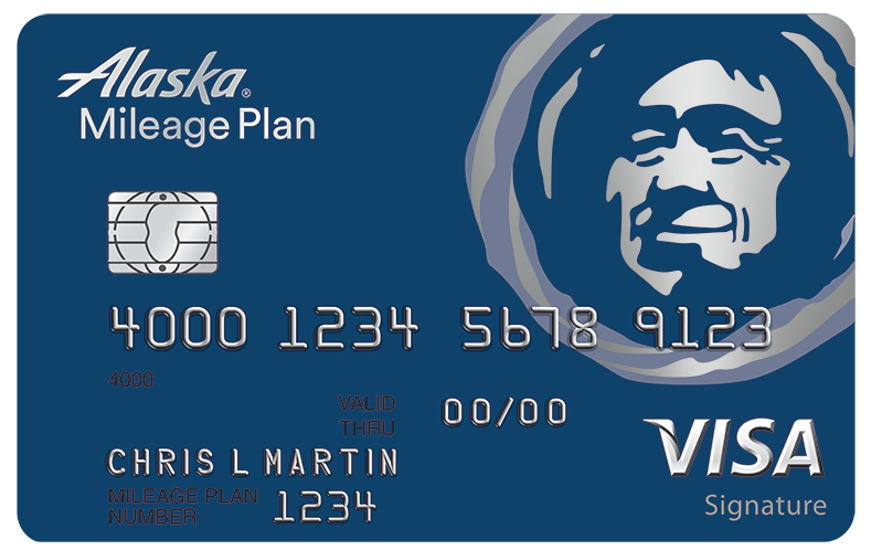 alaska airlines signature card