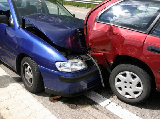 car gets totaled