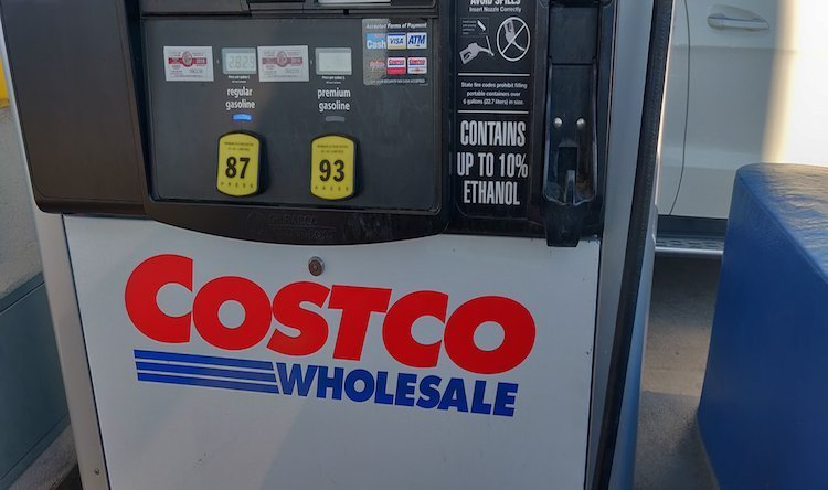 costco gas Kirkland signature