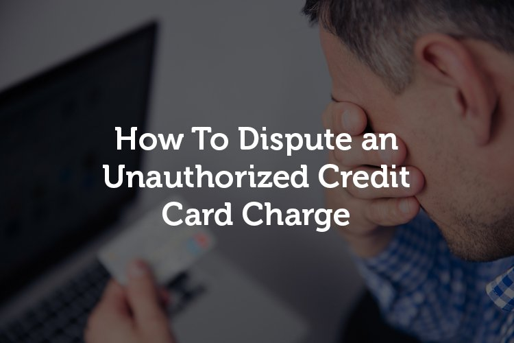 Credit Card Charge