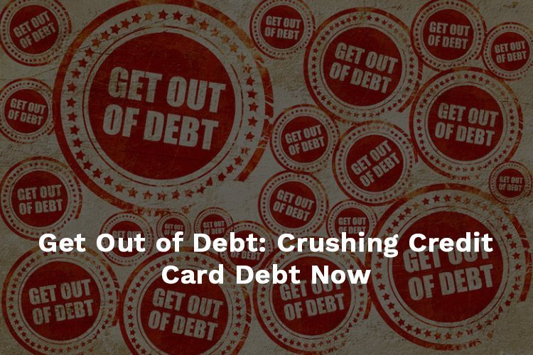 crushing credit card debt