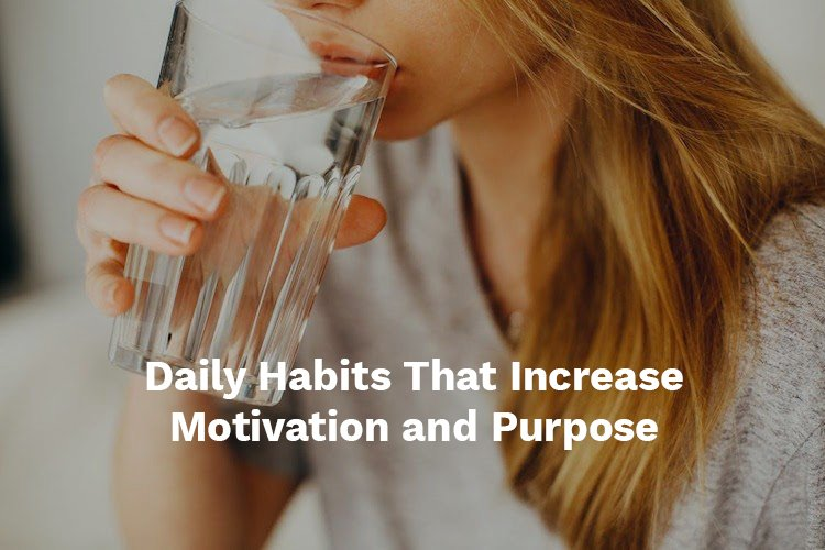 good daily habits
