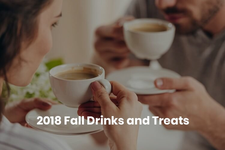 fall drink and treats