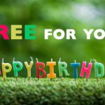 free meal on your birthday