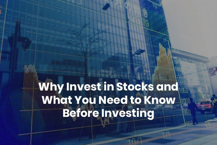 investing your money in stocks