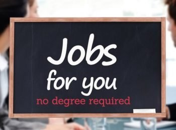 high paying jobs that don't require a college degree