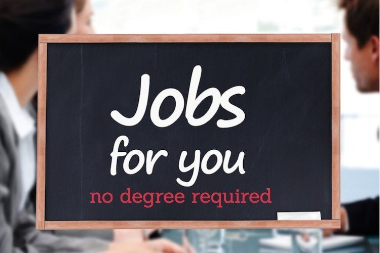 8 High-Paying Jobs Without a Degree