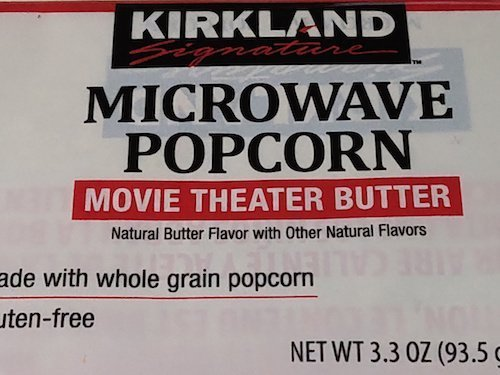 Kirkland popcorn - boxed vs costco