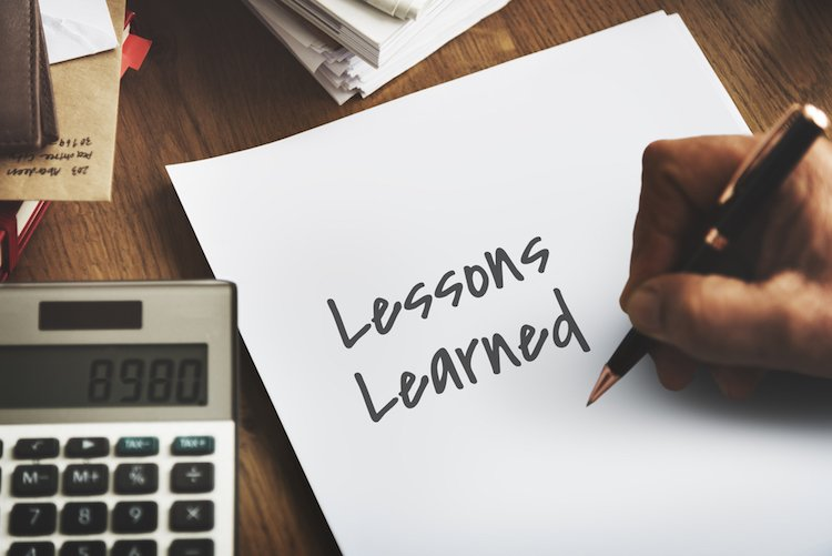 learning from financial mistakes