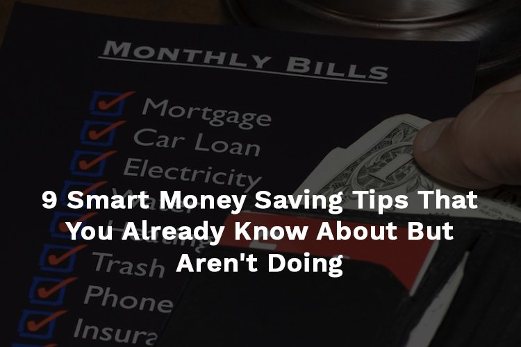 Smart Money Saving Ideas