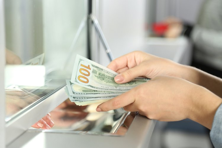 pay yourself first depositing money
