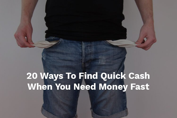 quick cash when need money fast