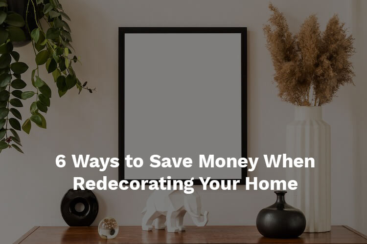 redecorating a home
