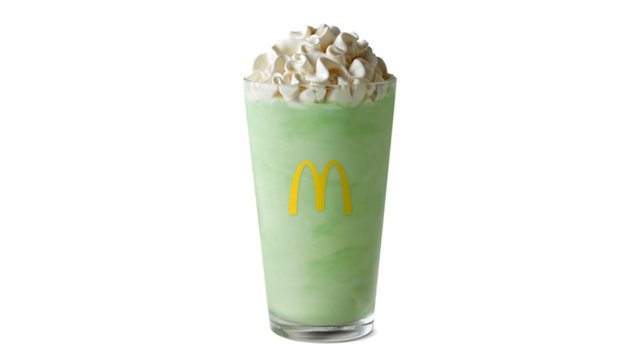 st francis day deals shamrock shake Mcdonalds