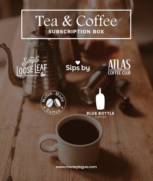 Food subscription box tea and coffee