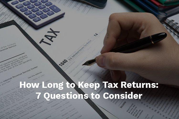 how long to keep tax returns