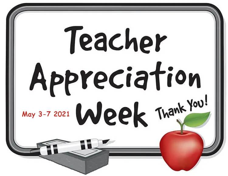 teacher appreciation week 2021