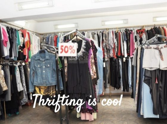 thrifting tips for thrift store shopping
