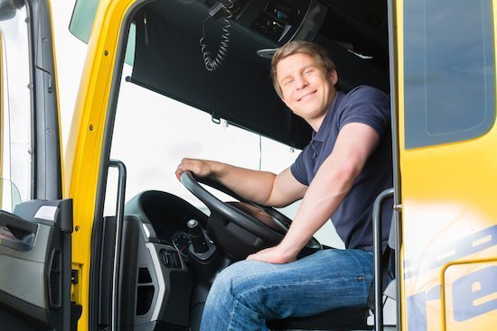 licensed truck driver