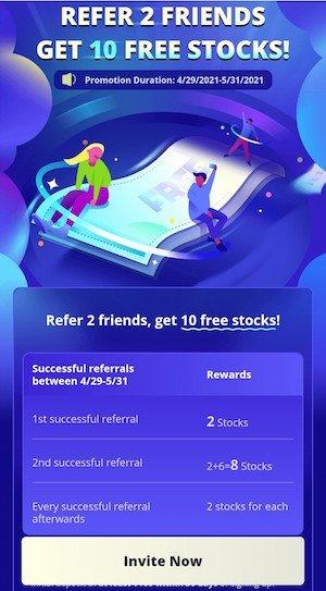 webull referral free stock
