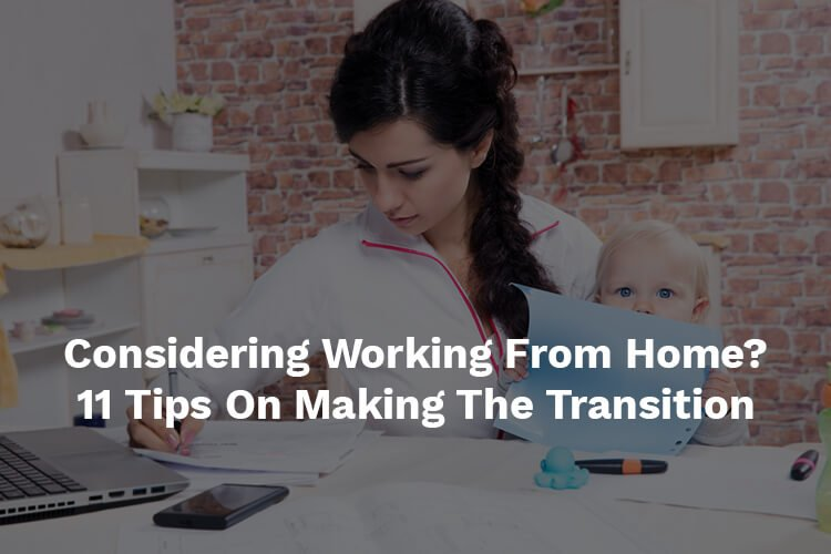 working from home transition tips