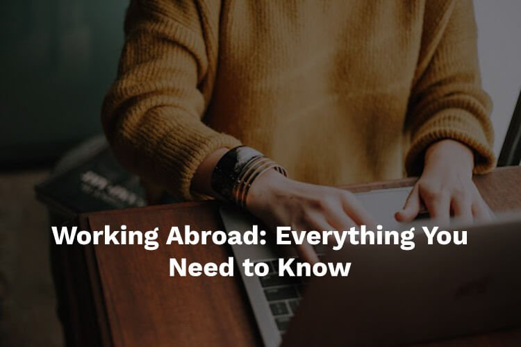 working abroad or overseas